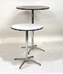 Rental store for TABLE, 30  RD X 30  HIGH PEDESTAL TYPE in Philadelphia PA