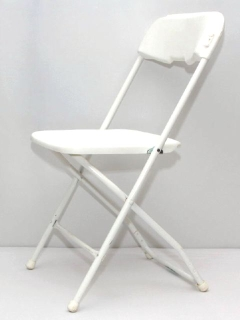 Rental store for CHAIR, FOLDING PLASTIC - WHITE in Philadelphia PA