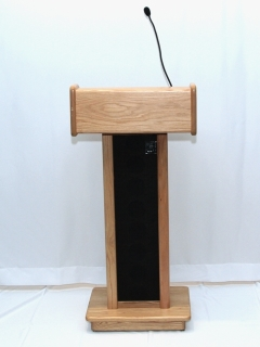 Rental store for LECTERN, POWERED - LIGHT OAK in Philadelphia PA