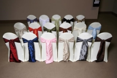 Rental store for CHAIR COVERS   ACCESSORIES in Philadelphia PA