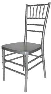 Where to find CHAIR, CHIAVARI RESIN-SILVER in Philadelphia