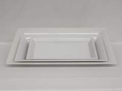 Rental store for PLATTER, WHITE MELAMINE 14.25 X7.5 in Philadelphia PA