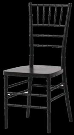 Rental store for CHAIR, CHIAVARI RESIN-BLACK in Philadelphia PA