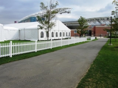 Rental store for WHITE PICKET FENCE 3 X8   SECTION in Philadelphia PA
