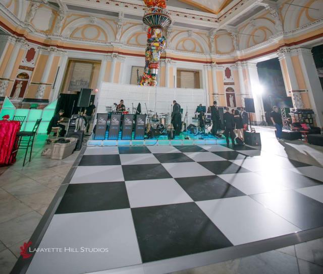Black White Vinyl Dance Floors Rentals Philadelphia Pa