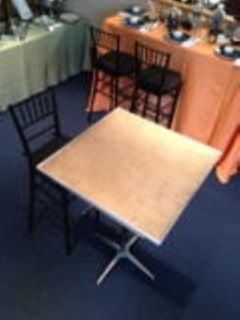 Rental store for TABLE, 30  SQUARE X 42  HIGH PEDESTAL TY in Philadelphia PA