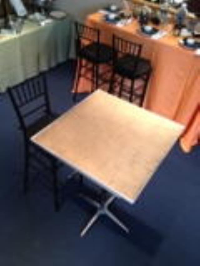 Where to find TABLE, 30  SQUARE X 30  HIGH PEDESTAL TY in Philadelphia