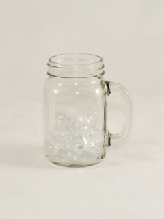 Rental store for GLASS, MASON JAR W  HANDLE 16 OZ in Philadelphia PA