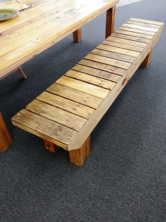 Rental store for BENCH, FARMHOUSE STYLE 7   NATURAL in Philadelphia PA