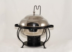 Rental store for CHAFER 6QT ROUND - HAMMERED in Philadelphia PA