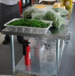 Rental store for PREP TABLE STAINLESS - 6X30 in Philadelphia PA