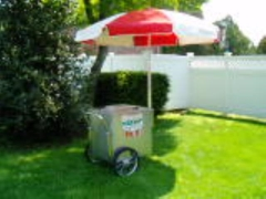 Rental store for WATERICE CART W. RED UMB.  NON-ELECTRIC in Philadelphia PA