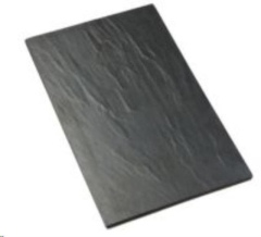 Rental store for PLATTER, FAUX SLATE MELAMINE 21.5 X13 in Philadelphia PA