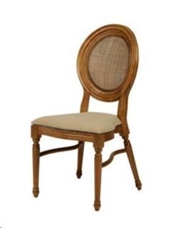 Rental store for CHAIR, ELIZABETH - WOOD PADDED in Philadelphia PA