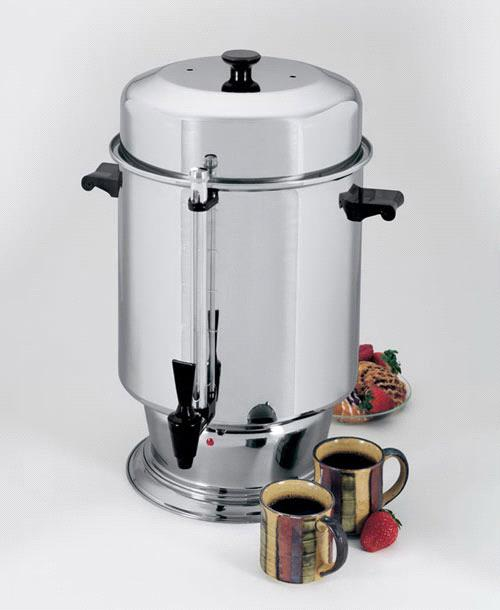 Where to find COFFEE MAKER, 110 CUP REGAL 14 AMP in Philadelphia