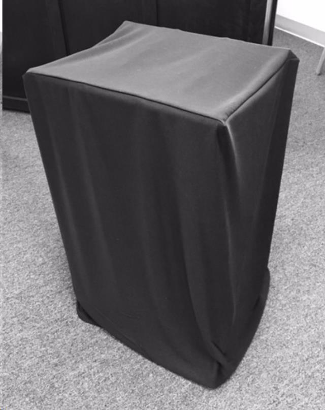 Where to find LINEN WAITERS STAND COVER - BLACK in Philadelphia