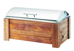 Rental store for CHAFER 8QT OBLONG - WOOD MADERA in Philadelphia PA