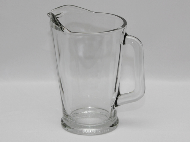 Where to rent PITCHER  GLASS  60 OZ in Cherry Hill NJ, Philadelphia, Haddonfield NJ, Marlton NJ, Moorestown New Jersey