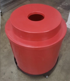 Rental store for KEG COOLER W  WHEELS, RED in Philadelphia PA