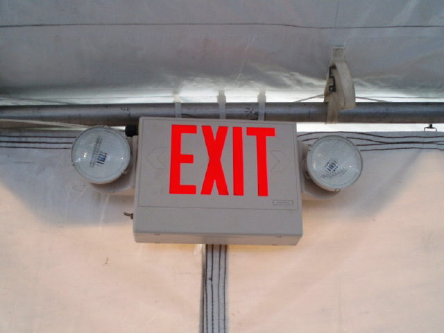 Where to find EXIT LIGHT W  BATTERY BACKUP  0.5A in Philadelphia