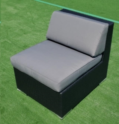 Rental store for CHAIR, ARMLESS- BLACK WICKER W. GRAY C 2 in Philadelphia PA