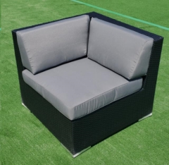 Rental store for CHAIR, CORNER- BLACK WICKER W. GRAY C 3 in Philadelphia PA