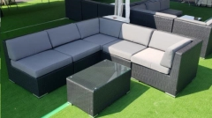 Rental store for BLACK GRAY WICKER LOUNGE, 6PC- PK 1 in Philadelphia PA