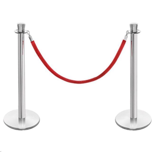 Stanchion Red Velvet Rope 6 Foot Rentals Philadelphia Pa