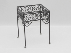 Rental store for STAND, WROUGHT IRON-BLACK 7 X7 X9  HIGH in Philadelphia PA
