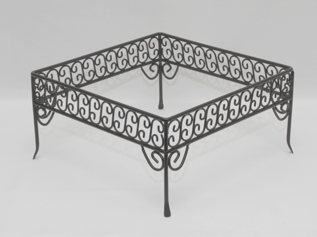 Where to find STAND, WROUGHT IRON-BLACK 12 X12 X6  HIG in Philadelphia