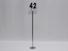 Rental store for NUMBER STANDS 18  TALL - CHROME in Philadelphia PA